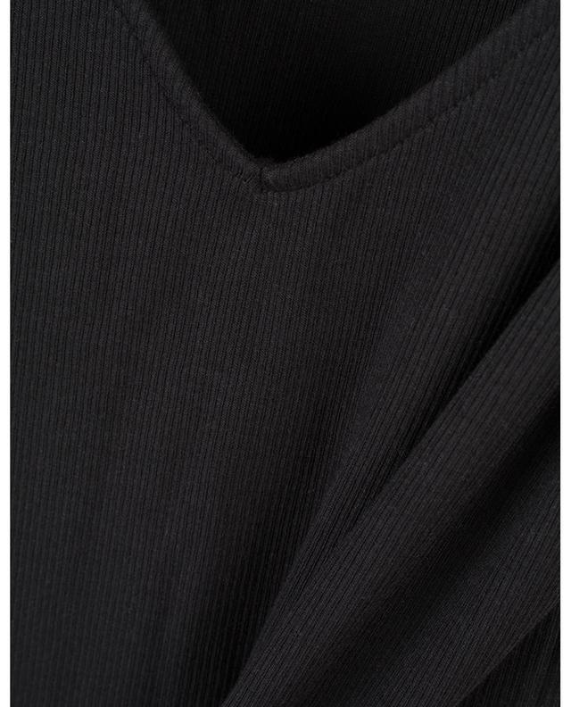 Nadira cotton rib tank top SKIN