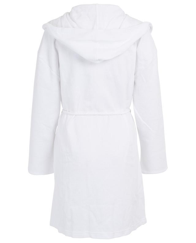 Peignoir gaufré en coton Charlotte SKIN