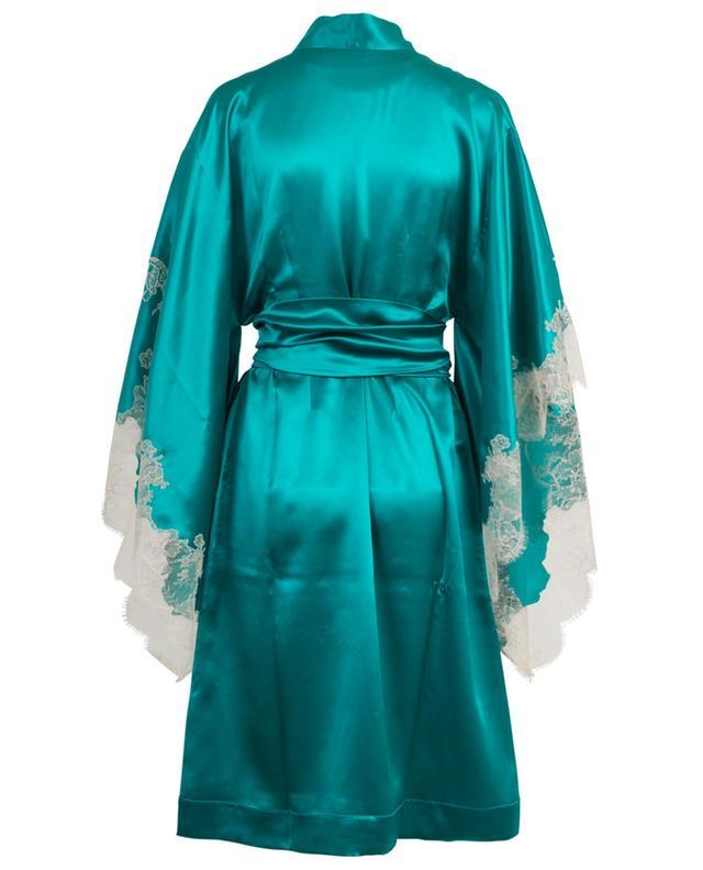 Kimono en soie et dentelle CARINE GILSON