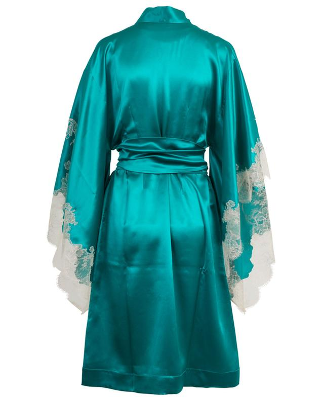 Silk and lace kimono CARINE GILSON