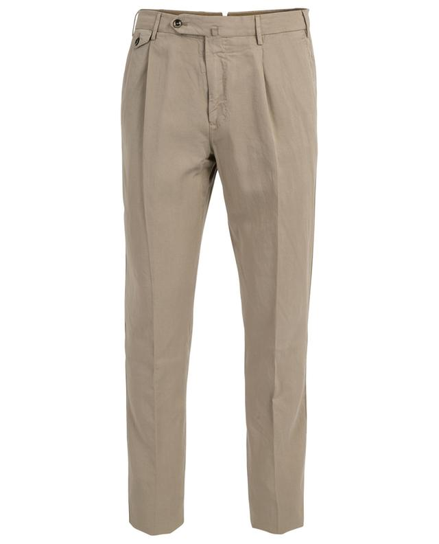 Genleman Fit lyocell, linen and cotton trousers PT01