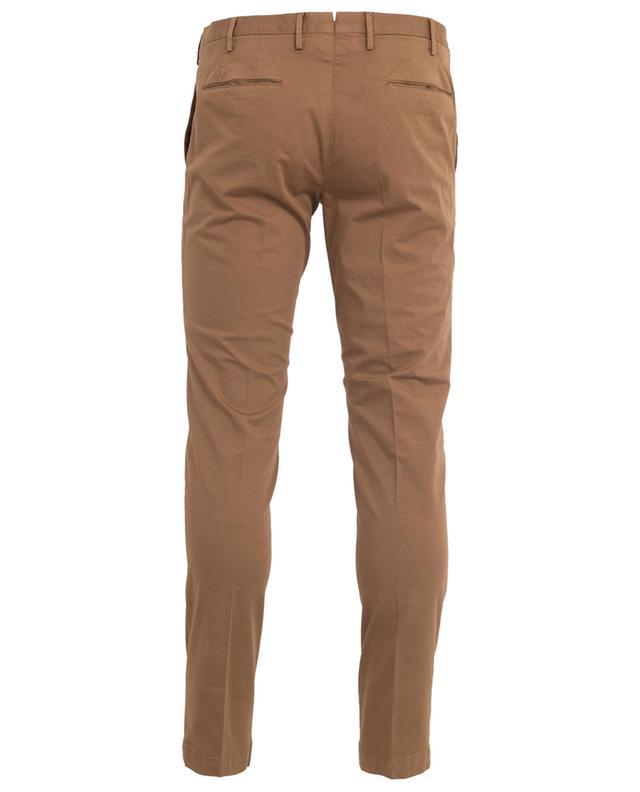 Pantalon chino skinny en coton stretch PT01