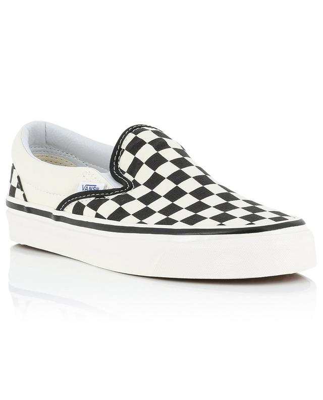 Baskets slip-on damier Classic Anaheim Factory Checker VANS