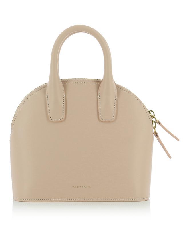 Small smooth leather handbag MANSUR GAVRIEL