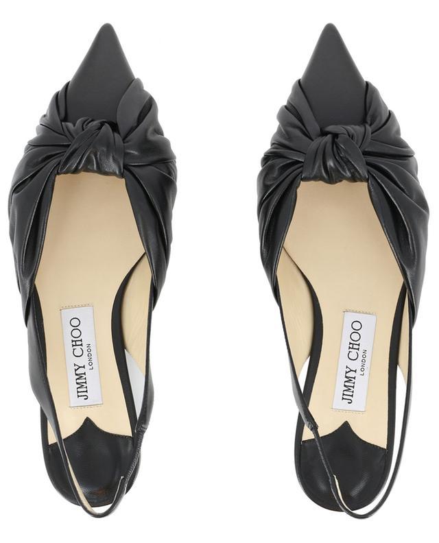 Chaussures à bride arrière détail noeud Annabell Flat JIMMY CHOO