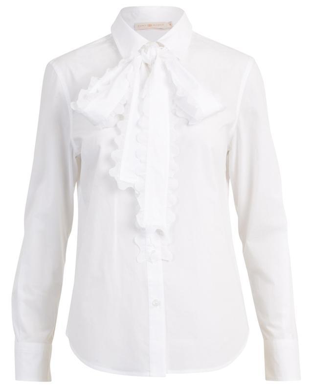 Chemise en coton à découpes TORY BURCH