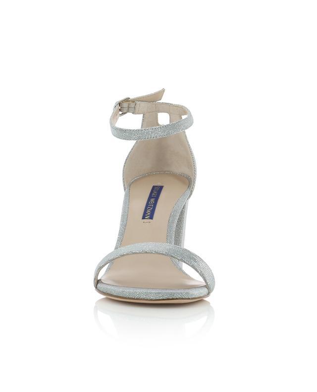 Sandales en tissu scintillant Nearlynude STUART WEITZMAN