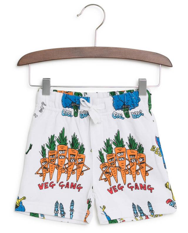 Short en coton imprimé Veg Gang STELLA MCCARTNEY