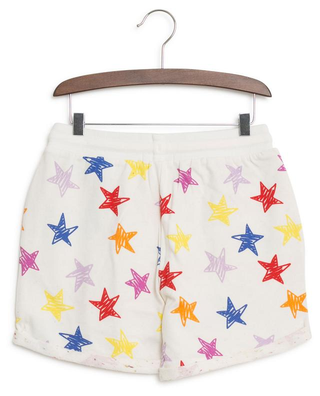 Multicolour Stars sweat shorts STELLA MCCARTNEY