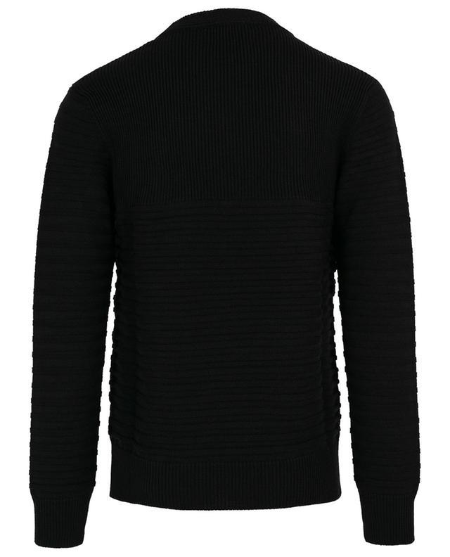 Pullover mit texturierten Streifen DONDUP