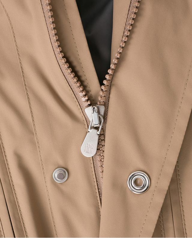 Veste imperméable avec capuche dissimulée BRUNELLO CUCINELLI