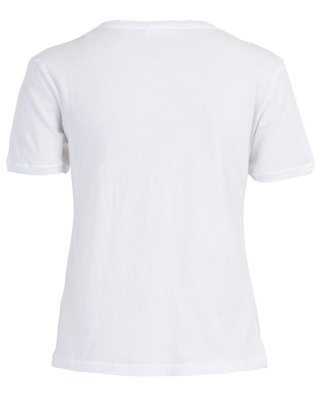Chipiecat monochrome lightweit T-shirt AMERICAN VINTAGE