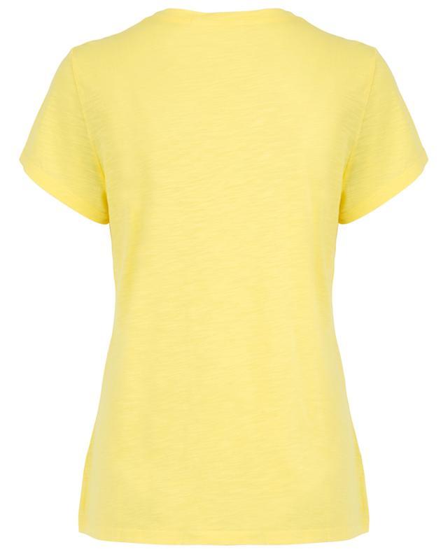T-shirt en coton flammé Jacksonville AMERICAN VINTAGE
