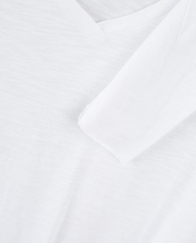 Geflammtes Langarm-T-Shirt Jacksonville AMERICAN VINTAGE