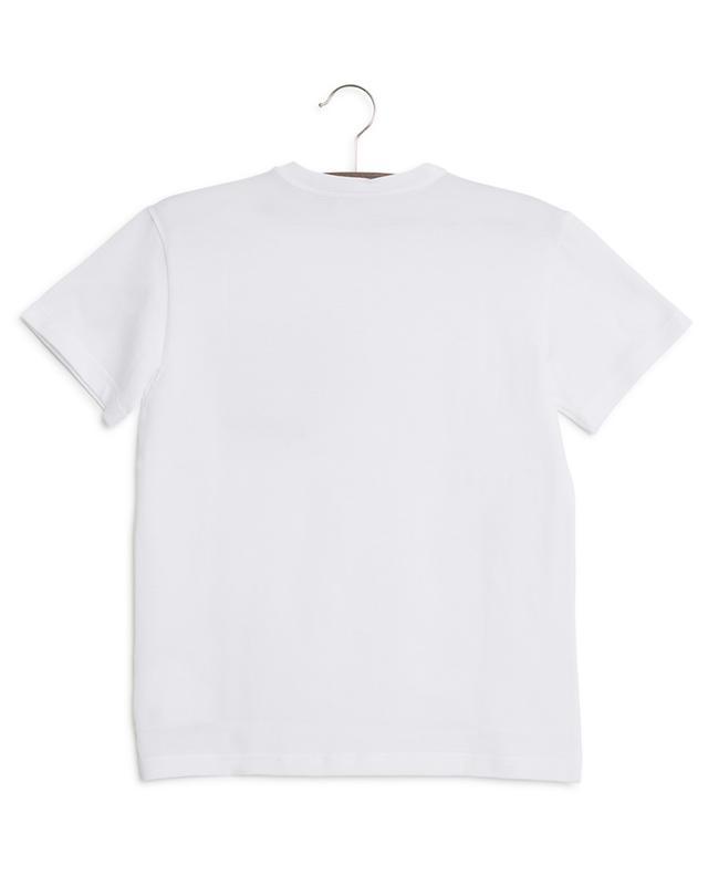 T-shirt orné d'un patch DG King's DOLCE & GABBANA