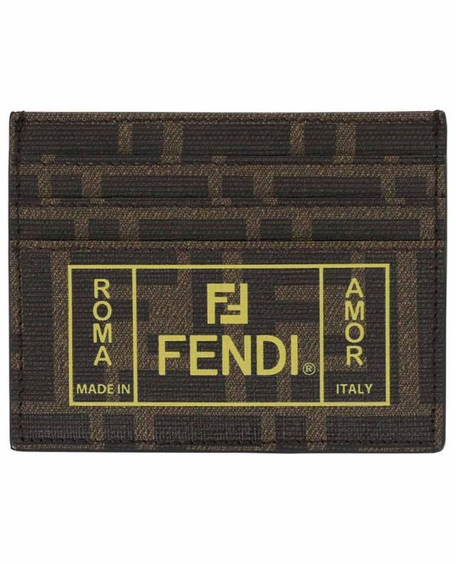 Kartenetui FF Fendi Roma Amor FENDI