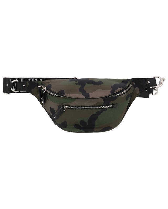 VLTN camouflage print belt bag VALENTINO
