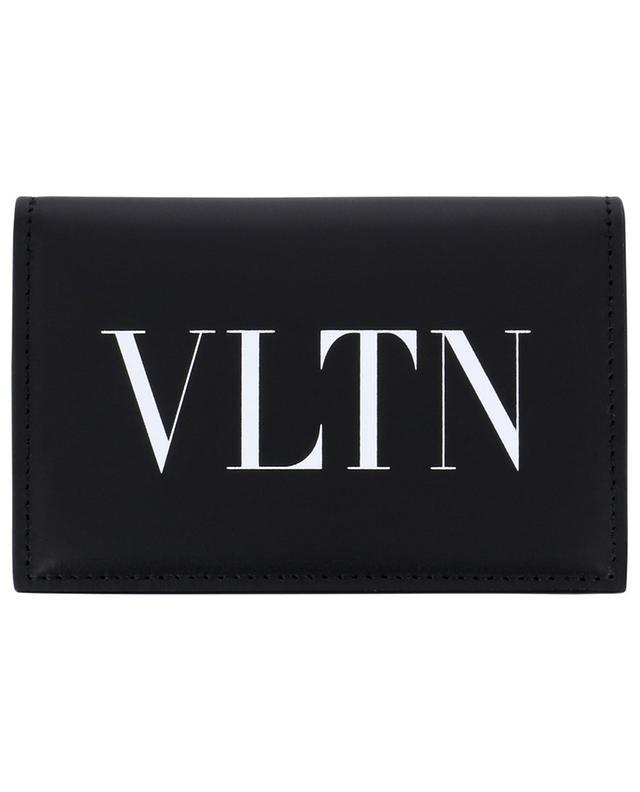 Portefeuille en cuir logo VLTN VALENTINO