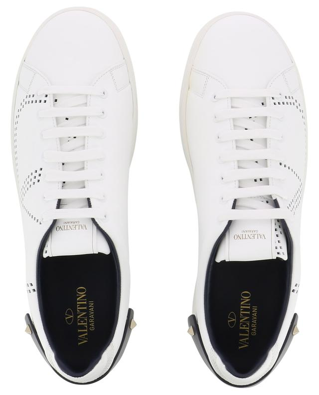 Vlogo perforated leather sneakers VALENTINO