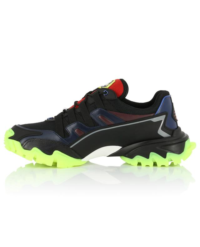 Climbers neon detail multi-material sneakers VALENTINO