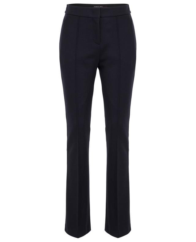Slightly flared wool felt trousers MARC CAIN