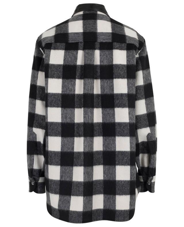Veste esprit chemise à carreaux N°21
