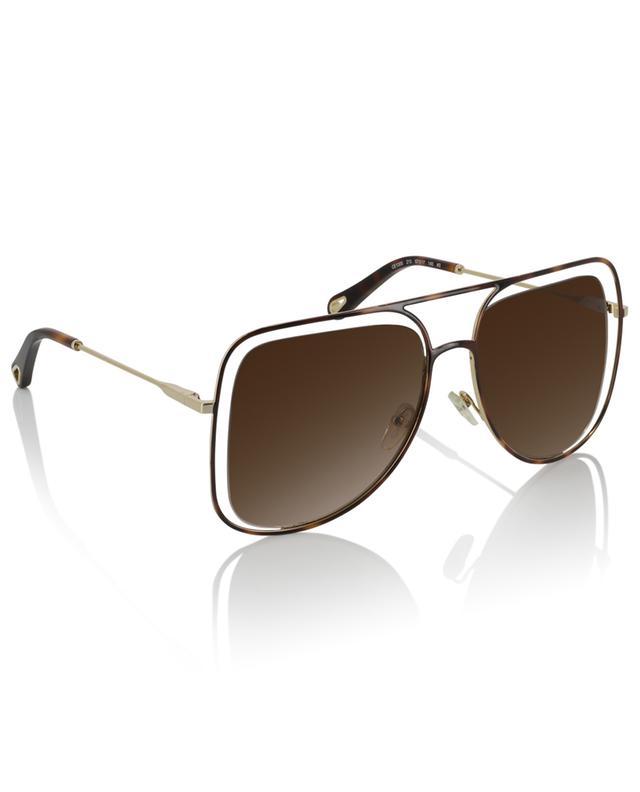 Sonnenbrille im Fliegerstil Poppy CHLOE