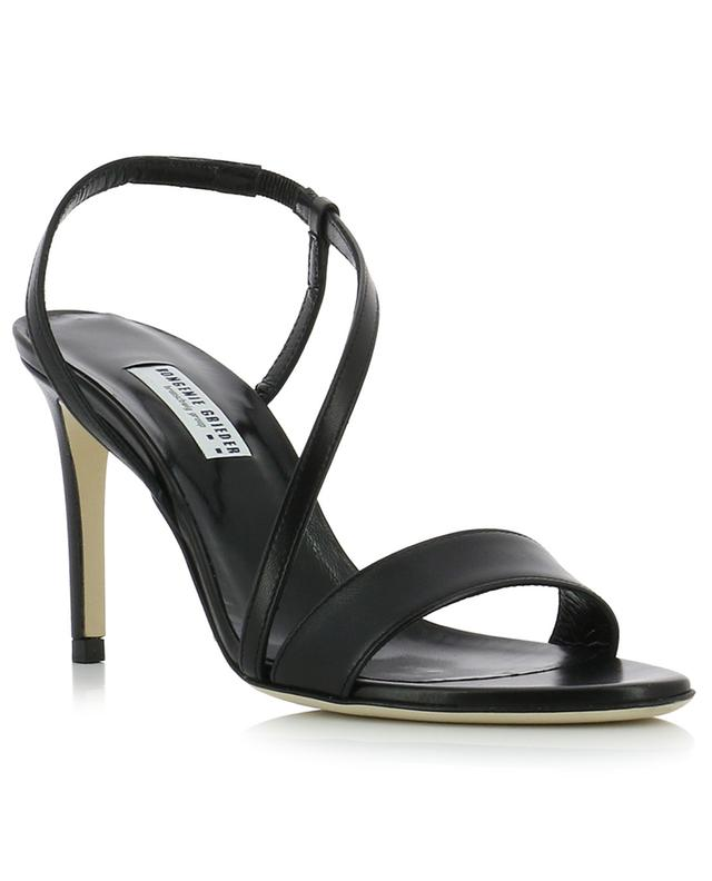 Dressy Strap heeled nappa leather sandals BONGENIE GRIEDER
