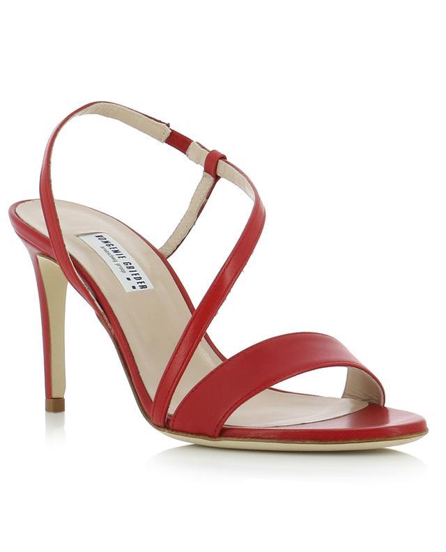 Dressy Strap heeled nappa leather sandals BONGENIE GRIEDER