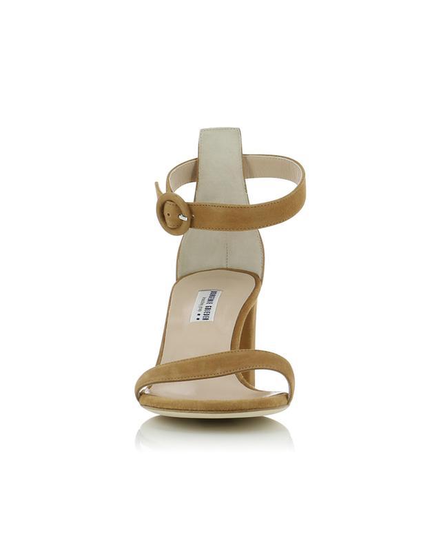 Sandalen mit Blockabsatz aus Wildleder BONGENIE GRIEDER