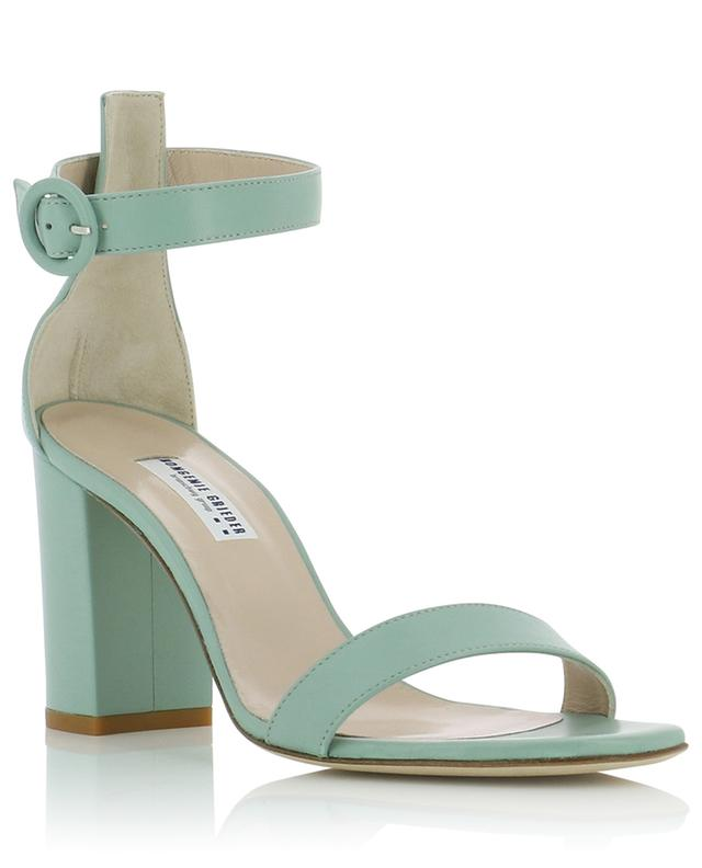 Leather sandals with block heel BONGENIE GRIEDER