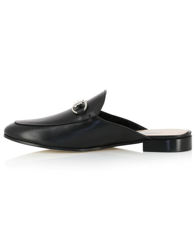 Flat smooth leather mules BONGENIE GRIEDER