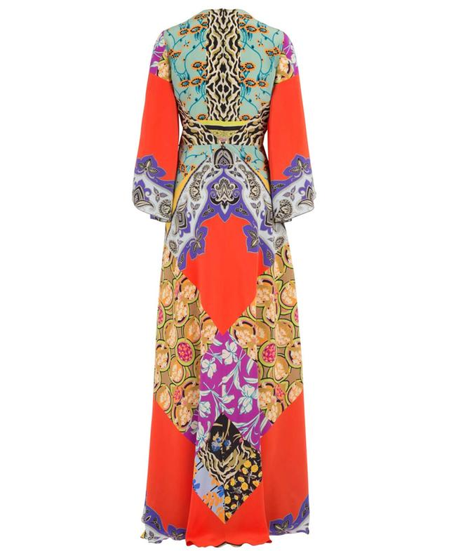 Long printed silk dress ETRO