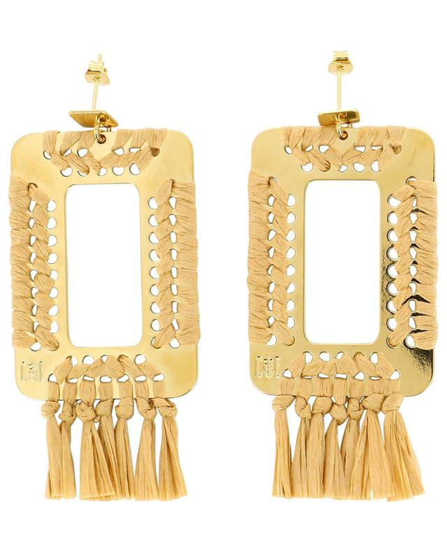 Ayad gold-plated earrings CAMILLE ENRICO