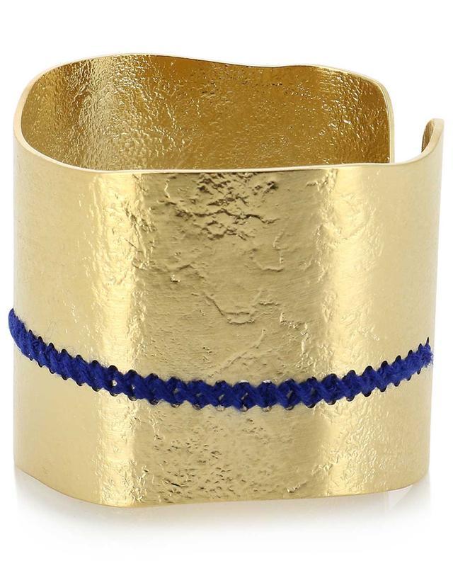 Meknès gold plated cuff CAMILLE ENRICO