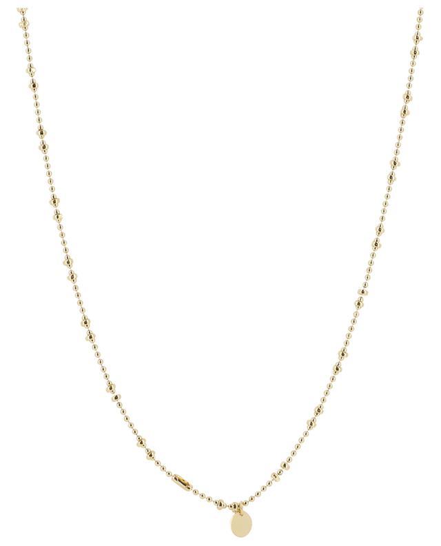 Collier doré pendentif coeur brodé Aman CAMILLE ENRICO