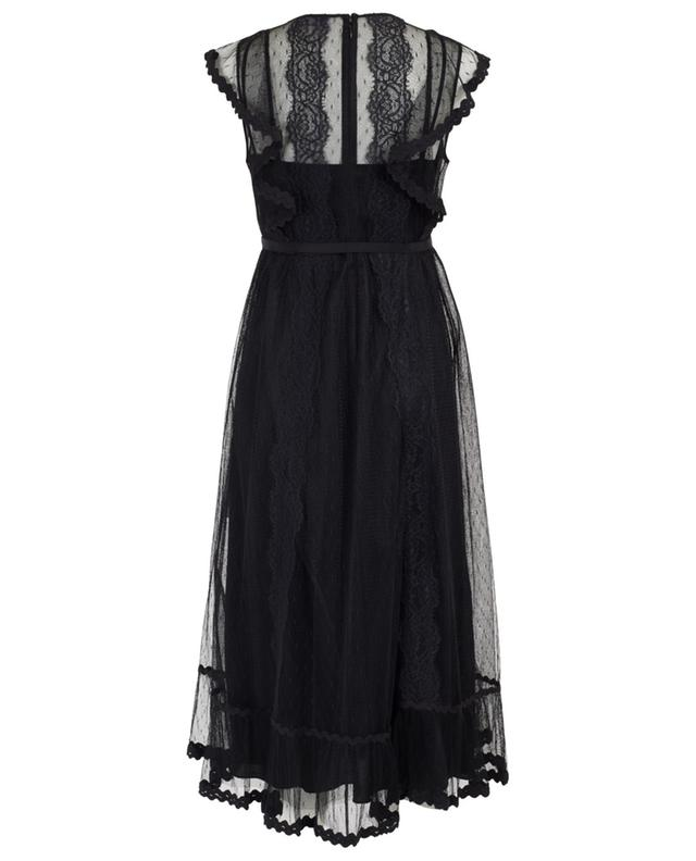Long tulle and lace dress RED VALENTINO