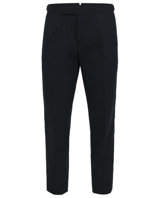 Pantalon à pinces en coton ERMENEGILDO ZEGNA