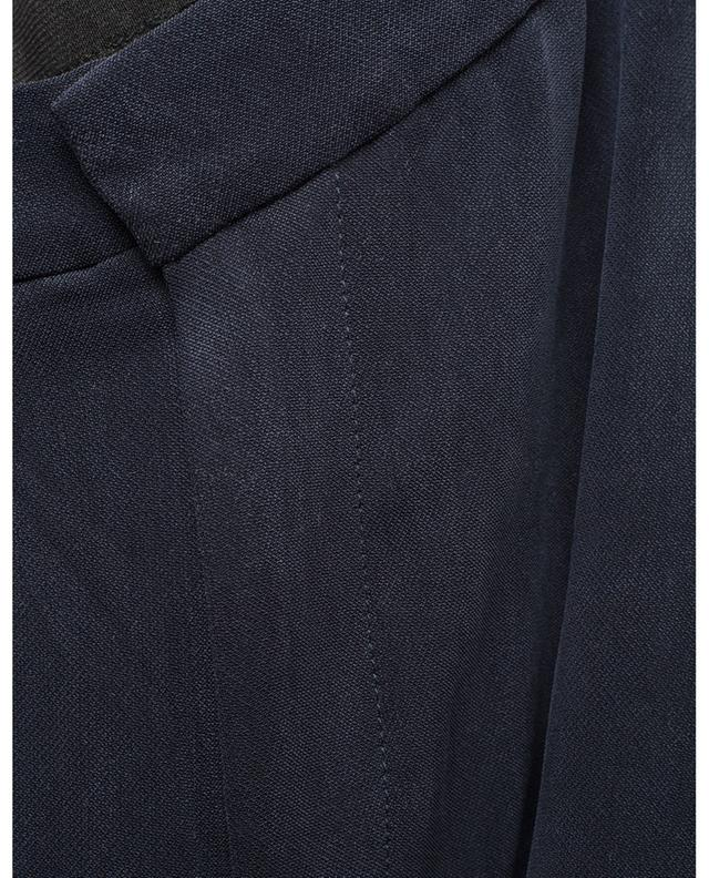 Babarum straight cupro stretch trousers AMERICAN VINTAGE