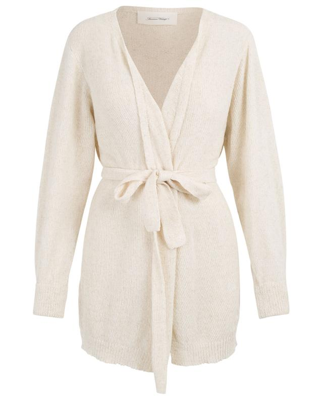 Bibaron belted chenille cardigan AMERICAN VINTAGE