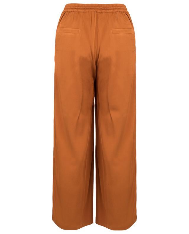 Icoday viscose twill wide-leg trousers AMERICAN VINTAGE