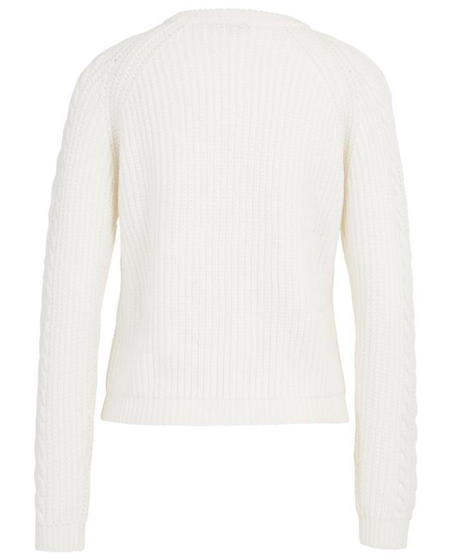Pretura virgin wool cable knit jumper IBLUES