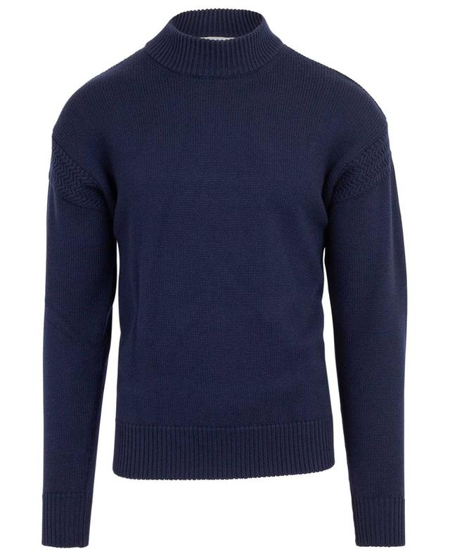 Wool jumper with high collar WOOLRICH