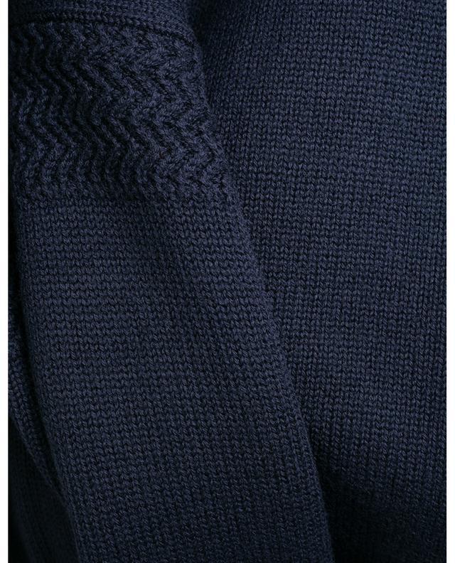 Wool jumper with high collar WOOLRICH