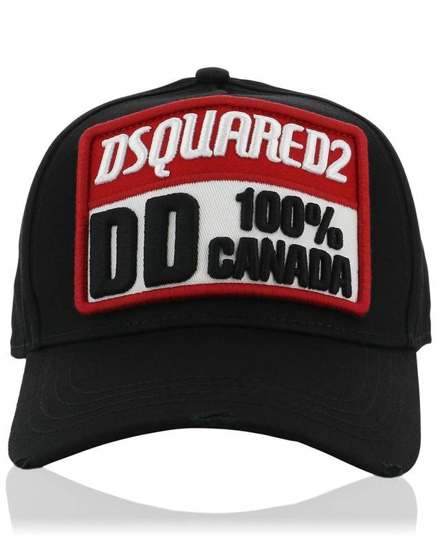 Casquette effet vieilli Dsquared2 100% Canada DSQUARED2