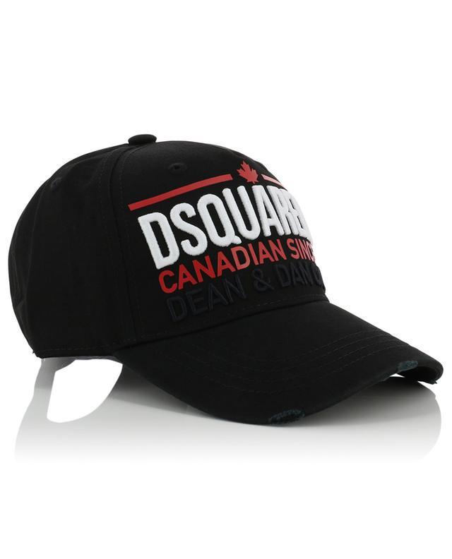 Casquette effet vieilli Canadian Since 64 DSQUARED2