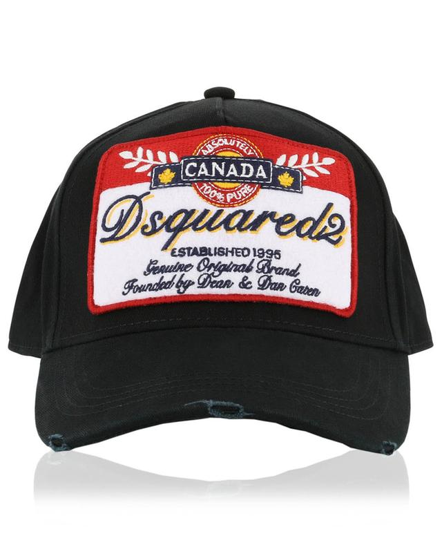 Casquette Beer Label Never Cry In One's Beer DSQUARED2