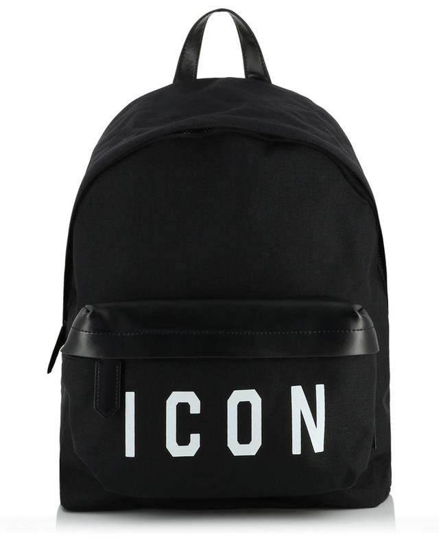 Sac à dos en nylon et cuir Icon DSQUARED2