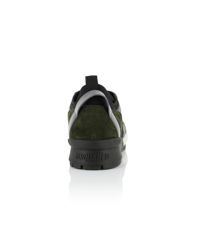 Sneakers aus Nylon und Wildleder Basic k2 DSQUARED2