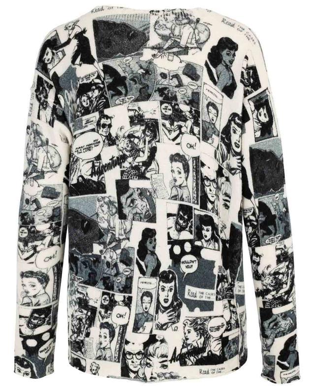 Soft comic strip print jumper PRINCESS